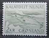 Poštovní známka Grónsko 1975 Narval jednorohý Mi# 92