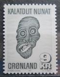 Poštovní známka Grónsko 1977 Maska Mi# 103