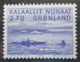 Poštovní známka Grónsko 1982 Umění, Jakob Danielsen Mi# 136