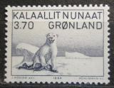 Poštovní známka Grónsko 1984 Lední medvěd Mi# 147