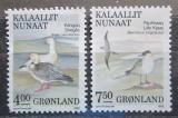 Poštovní známky Grónsko 1990 Ptáci Mi# 199-200