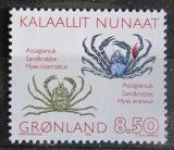 Poštovní známka Grónsko 1993 Krabi Mi# 233