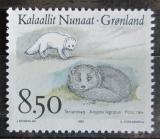 Poštovní známka Grónsko 1993 Polární liška Mi# 240