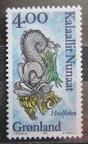 Poštovní známka Grónsko 1995 Hvalfisken Mi# 277