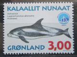 Poštovní známka Grónsko 1998 Plískavice bělonosá Mi# 317