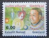 Poštovní známka Grónsko 2005 Vánoce Mi# 451