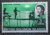 Poštovní známka Brit. Šalamounovy ostrovy 1968 Rybaření Mi# 169