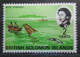 Poštovní známka Brit. Šalamounovy ostrovy 1968 Rybolov Mi# 168
