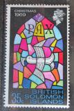 Poštovní známka Brit. Šalamounovy ostrovy 1969 Vánoce Mi# 190