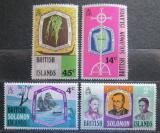 Poštovní známky Brit. Šalamounovy ostrovy 1971 Biskup Patteson Mi# 205-08