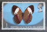Poštovní známka Brit. Šalamounovy ostrovy 1972 Cupha woodfordi Mi# 219
