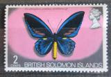 Poštovní známka Brit. Šalamounovy ostrovy 1972 Ornithoptera priamus Mi# 220