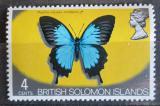 Poštovní známka Brit. Šalamounovy ostrovy 1972 Papilio ulysses orsippus Mi# 222
