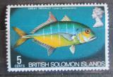 Poštovní známka Brit. Šalamounovy ostrovy 1972 Caranx sexfasciatus Mi# 223