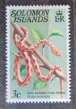 Poštovní známka Šalamounovy ostrovy 1979 Bojka hnědá Mi# 386