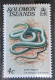 Poštovní známka Šalamounovy ostrovy 1979 Dendrelaphis calligaster Mi# 387