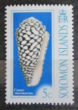 Poštovní známka Šalamounovy ostrovy 2006 Conus marmoreus Mi# 1327