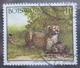 Poštovní známka Botswana 1992 Gepard štíhlý Mi# 517
