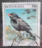 Poštovní známka Botswana 1997 Tkalčík červenozobý Mi# 636