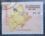 Poštovní známka Botswana 2006 Silniční síť Mi# 835