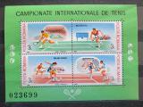Poštovní známky Rumunsko 1988 Tenis Mi# Block 244