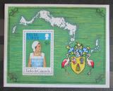 Poštovní známka Turks a Caicos 1977 Královna Alžběta II. Mi# Block 7