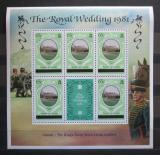 Poštovní známky Caicos 1981 Kensingtonský palác Mi# 9 I Block