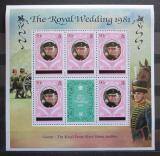 Poštovní známky Caicos 1981 Princ Charles Mi# 10 I Block