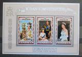 Poštovní známky Penrhyn 1977 Vláda Alžběty II., 25. výročí Mi# Block 4 Kat 7.50€