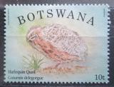 Poštovní známka Botswana 2014 Křepelka harlekýn Mi# 974