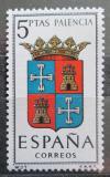 Poštovní známka Španělsko 1965 Znak Palencia Mi# 1526