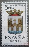 Poštovní známka Španělsko 1965 Znak Pontevedra Mi# 1528