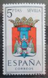 Poštovní známka Španělsko 1965 Znak Sevilla Mi# 1560