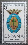 Poštovní známka Španělsko 1965 Znak Tenerife Mi# 1577
