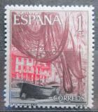Poštovní známka Španělsko 1965 Přístav Cudillero Mi# 1547