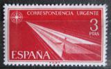 Poštovní známka Španělsko 1965 Šipka z papíru Mi# 1553