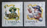 Poštovní známky Španělsko 1965 Poutník Mi# 1557-58
