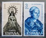 Poštovní známky Španělsko 1965 Christianizace Filipín Mi# 1587-88