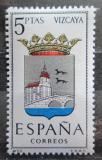 Poštovní známka Španělsko 1966 Znak Vizcaya Mi# 1609