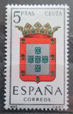 Poštovní známka Španělsko 1966 Znak Ceuta Mi# 1625
