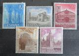 Poštovní známky Španělsko 1966 Pamětihodnosti Mi# 1636-40