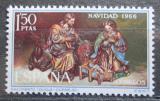 Poštovní známka Španělsko 1966 Vánoce, umění, Duque Cornejo Mi# 1659