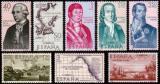 Poštovní známky Španělsko 1967 Budovatelé Ameriky Mi# 1711-18