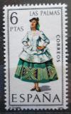 Poštovní známka Španělsko 1968 Lidový kroj Las Palmas Mi# 1764
