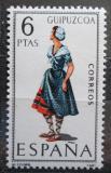 Poštovní známka Španělsko 1968 Lidový kroj Guipúzcoa Mi# 1781