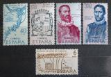 Poštovní známky Španělsko 1968 Americká historie Mi# 1782-86