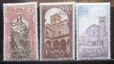 Poštovní známky Španělsko 1968 Klášter St. Maria Mi# 1788-90