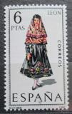 Poštovní známka Španělsko 1969 Lidový kroj Leon Mi# 1795
