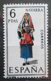 Poštovní známka Španělsko 1969 Lidový kroj Navarra Mi# 1831