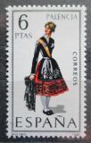 Poštovní známka Španělsko 1970 Lidový kroj Palencia Mi# 1844